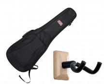 Gator GB-4G-ELECTRIC Electric Guitar Gig Bag + Frameworks Wall Hanger (Maple)