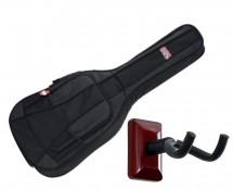 Gator GB-4G-MINIACOU Mini Acoustic Gig Bag + Frameworks Wall Hanger (Cherry)
