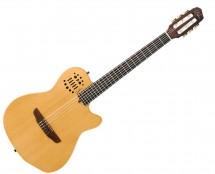 Godin Guitars 32167 Electric Guitar ACS SLIM Nylon Synth Access - 2-Voice Narrow- Natural SG