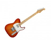 G&L Fullerton Deluxe ASAT Classic Bluesboy Cherry Burst w/ Maple Fingerboard