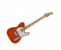 G&L Fullerton Deluxe ASAT Classic Clear Orange w/ Maple Fingerboard