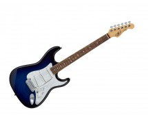 G&L Fullerton Deluxe S-500 Blue Burst w/ Rosewood Fingerboard