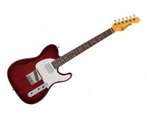 G&L Tribute ASAT Classic Bluesboy Semi-Hollow Redburst w/ Rosewood Fingerboard