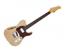G&L Tribute ASAT Classic Bluesboy Semi-Hollow Blonde w/ Rosewood Fingerboard