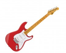 G&L Tribute Legacy Fullerton Red w/ Maple Fingerboard