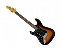 G&L Tribute Legacy Left Handed 3-Tone Sunburst w/ Rosewood Fingerboard