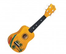 Hilo 2649-A Standard Soprano Ukulele Hawaiian Motif