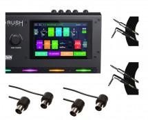 HeadRush Gigboard + Mogami Cables + MIDI Cables