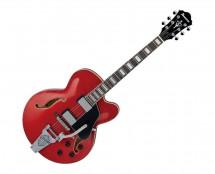 Ibanez AFS75T Artcore 6-String Electric Guitar - Transparent Red Sunburst