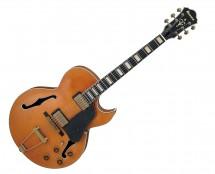 Ibanez AKJV Artcore Expressionist Vintage 6 String Guitar - Dark Amber Low Gloss