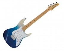 Ibanez AZ Premium 6 String Electric Guitar w/Gig Bag - Blue Iceberg Gradation