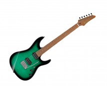 Ibanez MSM100FGB Marco Sfogli Signature w/Case - Fabula Green Burst
