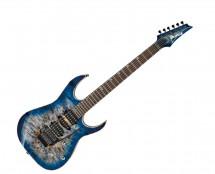 Ibanez RG Premium 6str Electric Guitar w/Case - Cerulean Blue Burst