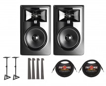 2x JBL 306P MkII + Stands + MoPADs + Cables
