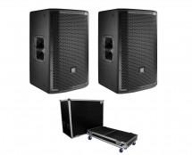 2x JBL PRX812W + ATA Case