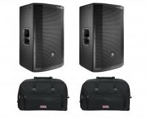 2x JBL PRX815W + Bags