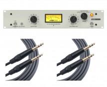 KLARK TEKNIK KT-2A + 2x 6' Mogami TRS Cables