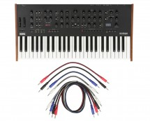 Korg Prologue 8 + 8 Pack Mixed 3.5mm Mono Patch Cables