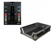 Mixars Duo MKII 2-Channel DJ Mixer + ProX XS-M12 Mixer Case