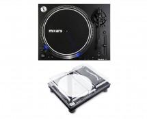 Mixars LTA Turntable + Decksaver Cover