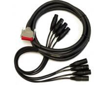 Mogami 16 Channel DB25-XLRF/M Tascam DSUB AES/EBU 5'