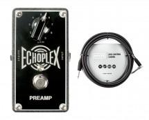 MXR EP101 Echoplex Preamp + 10' Instrument Cable