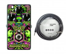"""MXR M169 """"I Love Dust"""" Carbon Copy + 20' Instrument Cable"""