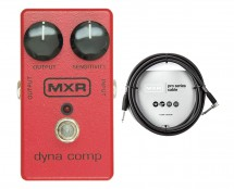 MXR M102 DynaComp Compressor + 10' Instrument Cable