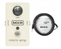 MXR M133 Micro Amp + 10' Instrument Cable
