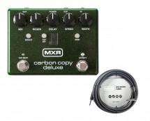 MXR M292 Carbon Copy Deluxe + 20' Instrument Cable