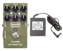 MXR M81 Bass Preamp + Power Supply