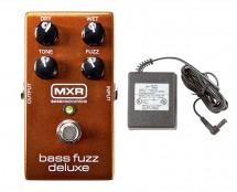 MXR M84 Bass Fuzz Deluxe + Power Supply
