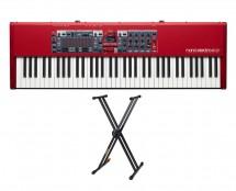 Nord Electro 6 HP + Hercules KS120B Keyboard Stand