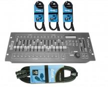 CHAUVET DJ Obey 70 + DMX Cables