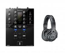 Pioneer DJM-S3 + ATH-M40X