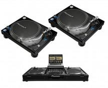2x Pioneer PLX-1000 + Odyssey FFXGSLBM12WBL