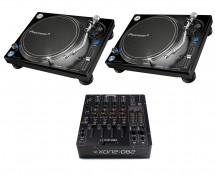 2x Pioneer PLX-1000 + Xone:DB2