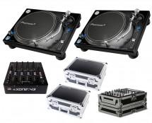 2x Pioneer PLX-1000 + Xone:43 + Odyssey Cases