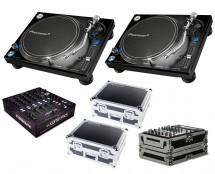 2x Pioneer PLX-1000 + Xone:PX5 + Odyssey Cases