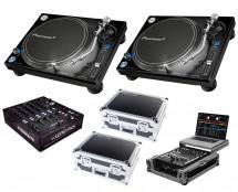 2x Pioneer PLX-1000 + Xone:PX5 + Odyssey Cases + Glide Style Case