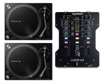 2x Pioneer PLX-500 + Allen & Heath Xone:23