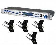 PreSonus Central Station Plus + Mogami TRS-XLRM Cables