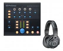 PreSonus Monitor Station V2 + ATH-M40X