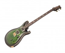PRS Custom 24 10-Top Emerald Smokeburst w/ Pattern-Thin Neck
