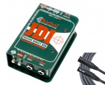 Radial JDI + Mogami XLR Cable