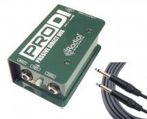Radial ProDI + Mogami Instrument Cable