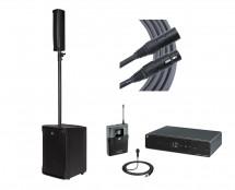 RCF EVOX JMIX8 + Sennheiser XSW 1-ME2 + Mogami Cable
