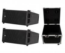 2x RCF HDL6-A + ProX XS-UTL9W Case