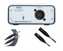 Rupert Neve Designs RNDI + Mogami 10' TS + 20' XLR