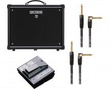 Boss KTN-50 Katana 50 Guitar Amp + Boss FS-5L Latching Footswitch + Cable